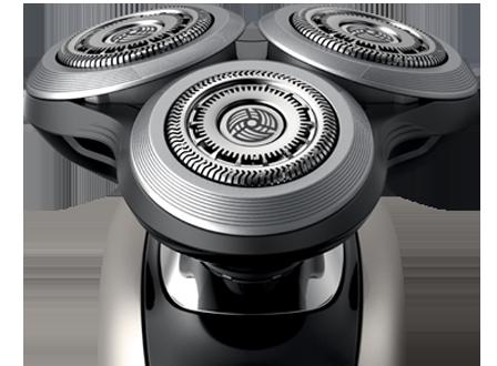 Se puede usar en húmedo o seco.  en comparación con SensoTouch Philips  Shaver S9031. Sistema de cuchillas V-track Precision PRO a03b0ce11054